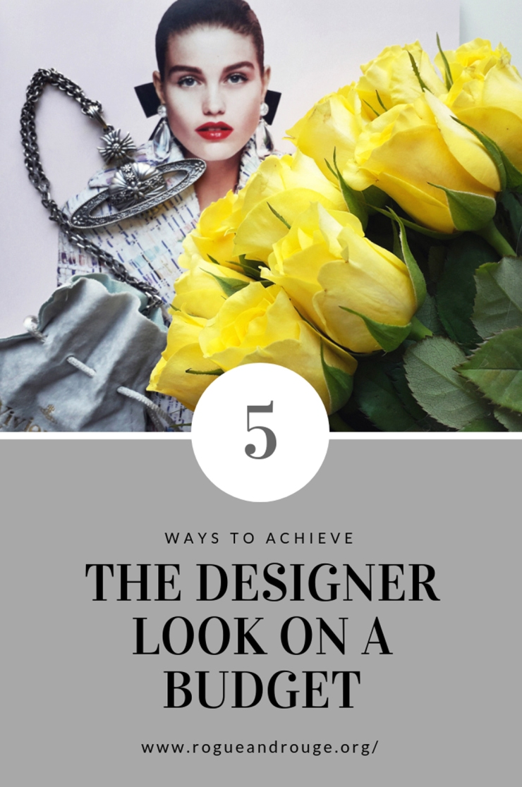 Ways to get the designer look on a budget