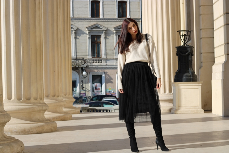 Tea time in Bucharest outfit