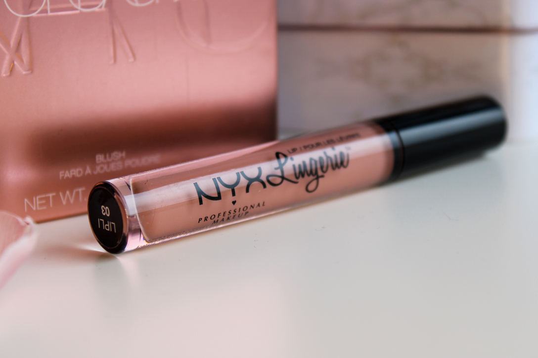 NYX lip lingerie in lace detail