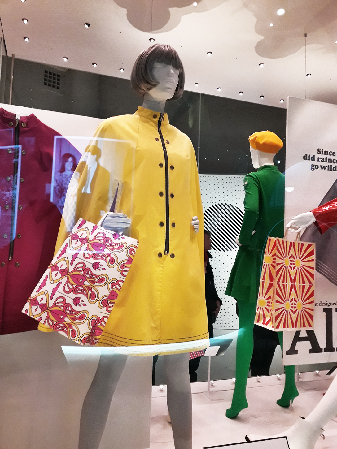 Mary Quant PVC raincoat