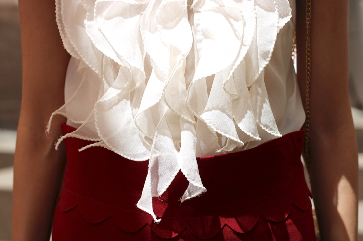 Velntino skirt details