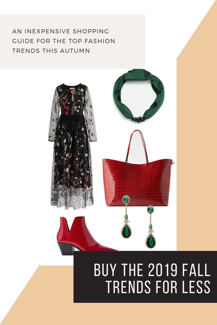 Buy the 2019 Fall trends for less(1)