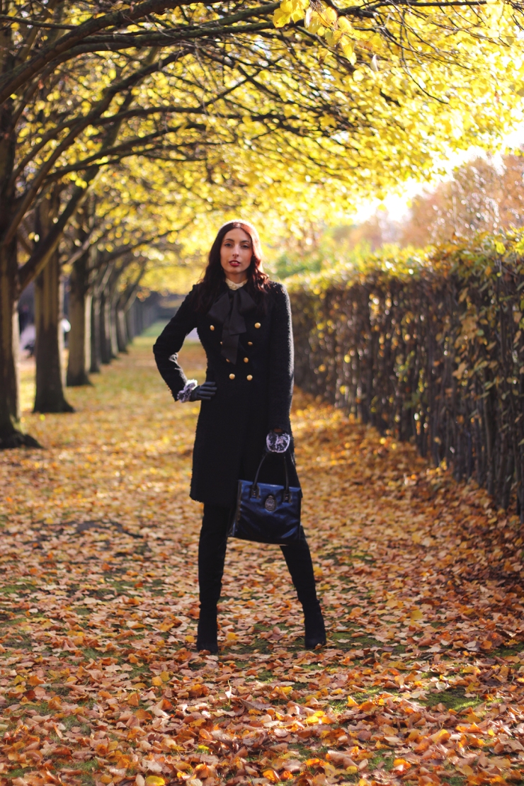 Autumn Zara coat outfit