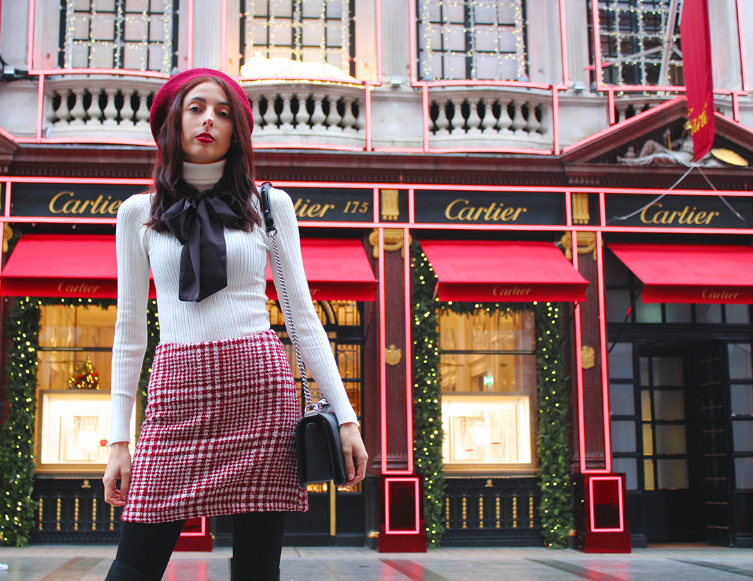 christmasshoppingoutfitlondon