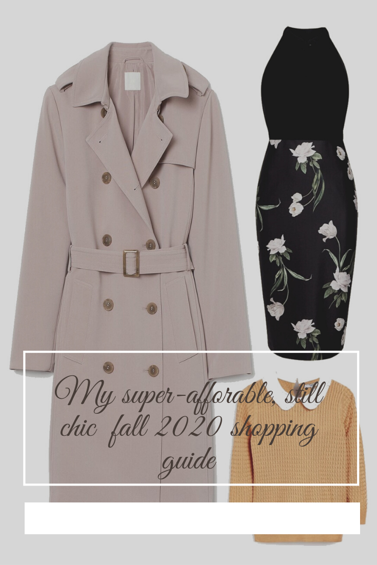 Autumn 2020 shopping guide